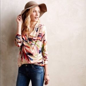 Anthropologie HD in Paris Draped Camille Top